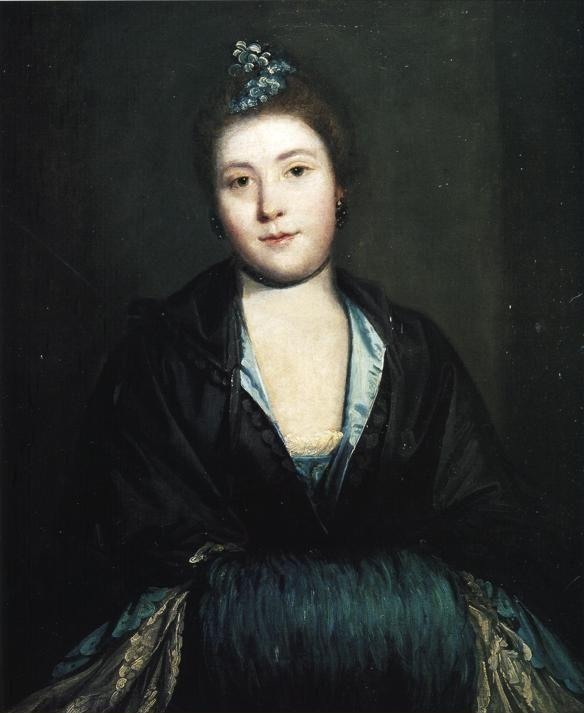 Sir Joshua Reynolds. Kitty Fisher.