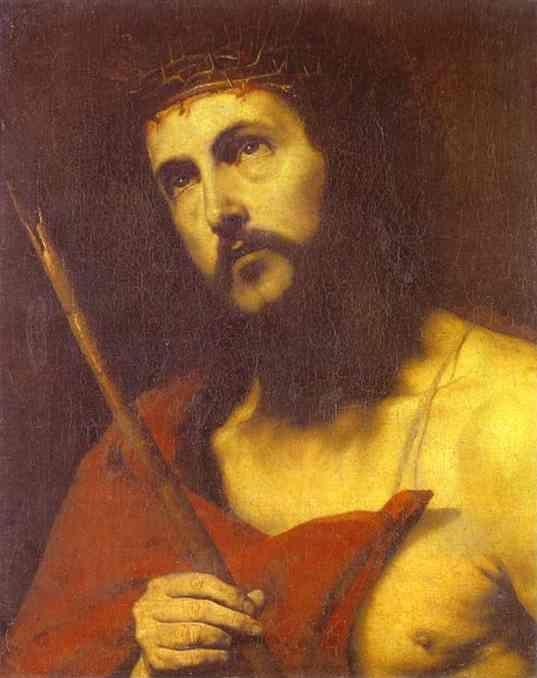 Jusepe de Ribera. Christ in the Crown  of Thorns.