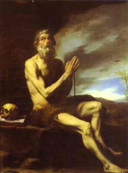 Jusepe de Ribera. St. Paul the Hermit.