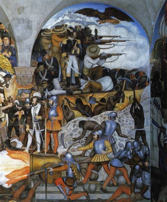 Diego Rivera. The History of Mexico.