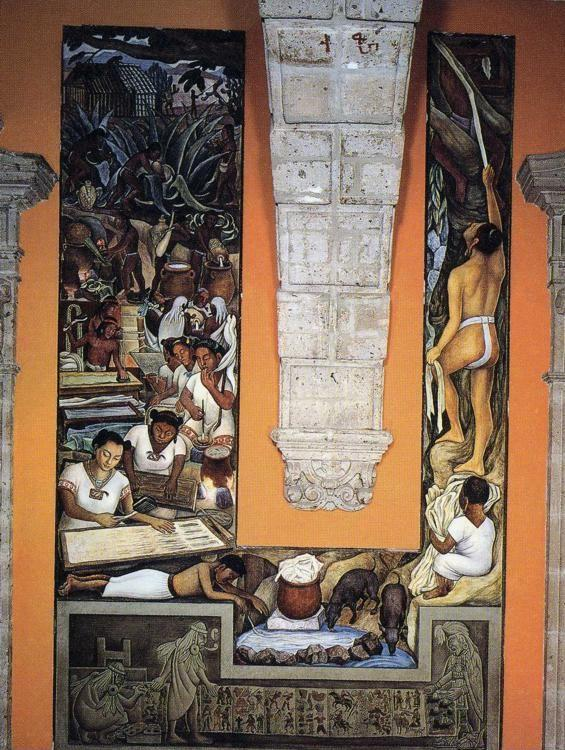 Diego Rivera. The Papermakers.