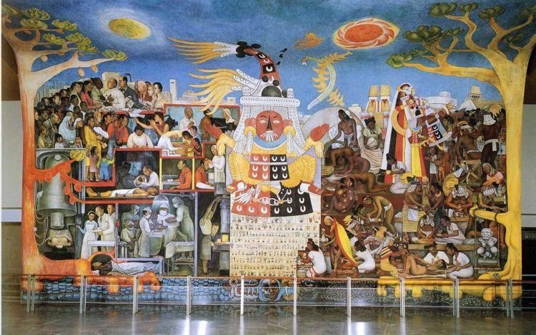 Images from book redemptive art in society dordt press for Diego rivera mural chicago