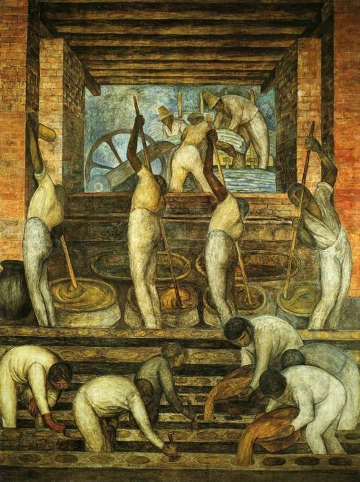 the laborer by diego rivera Rivera was a leading mexican muralist specializing in social inequality the  relationship of nature, industry, and technology and the history of his country.