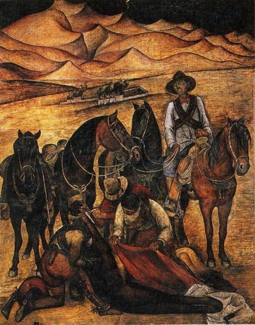 Diego Rivera. Liberation of the Peon.