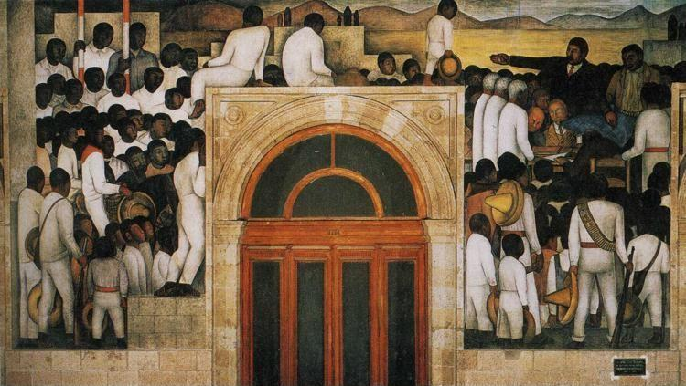 Diego Rivera. Land and Freedom.