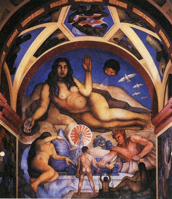 Diego Rivera. The Liberated Earth.