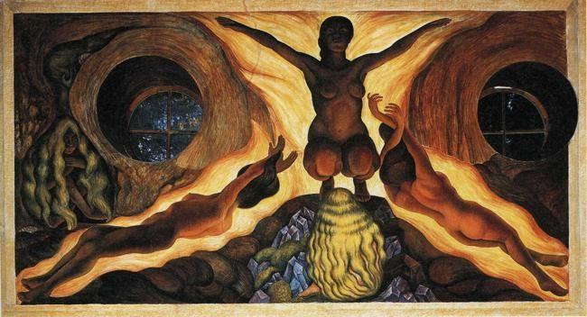 Diego rivera subterranean forces olga 39 s gallery for Diego rivera famous mural