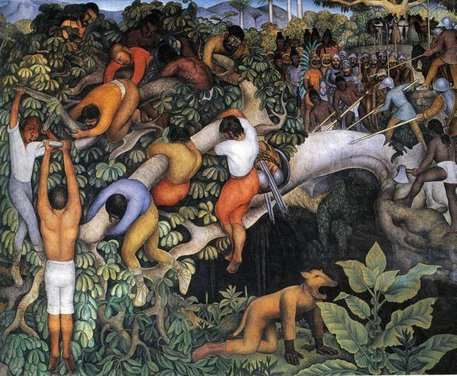 Diego Rivera. Entering the City.
