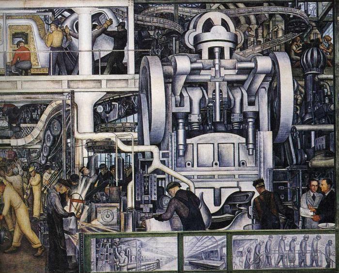 Diego Rivera Detroit Industry