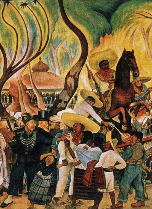 Diego Rivera Dream Of A Sunday Afternoon In Alameda Park