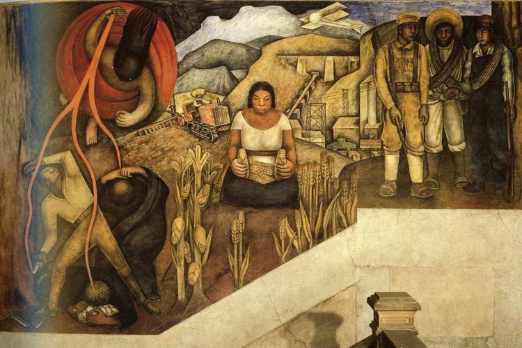 Diego Rivera. The Mechanization of the Country.