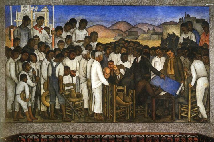 Diego Rivera. Partition of the Land.