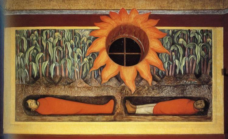 Diego Rivera The Blood Of The Revolutionary Martyrs