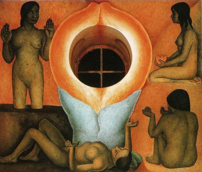 Diego Rivera. Maturation. / Maduración.