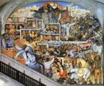 Diego Rivera. The History of Mexico - The  World of Today and Tomorrow.