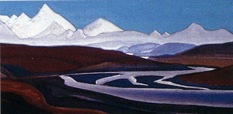 Nicholas Roerich. The Greatest and Holiest of Thang-La.
