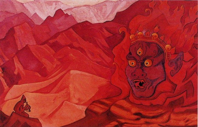 Nicholas Roerich. Dorje the Daring One.