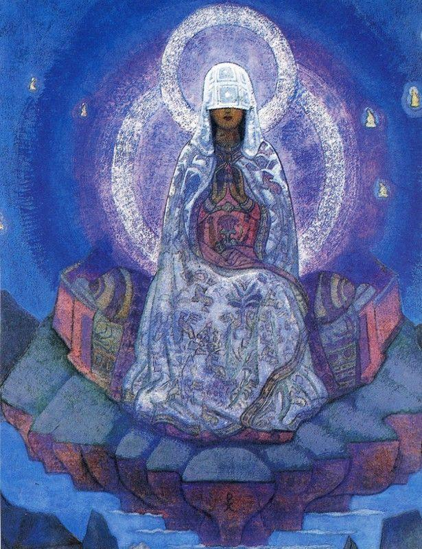 Nicholas Roerich. Mother of the World.