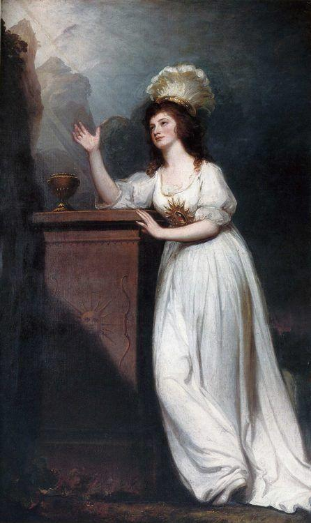 George Romney. Lady Godfrey Webster.