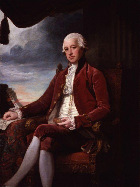 George Romney. Charles Jenkinson, 1st Earl of Liverpool.