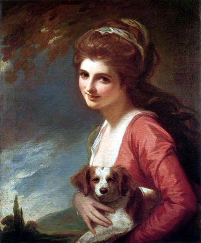 George Romney. Lady Hamilton as Nature.