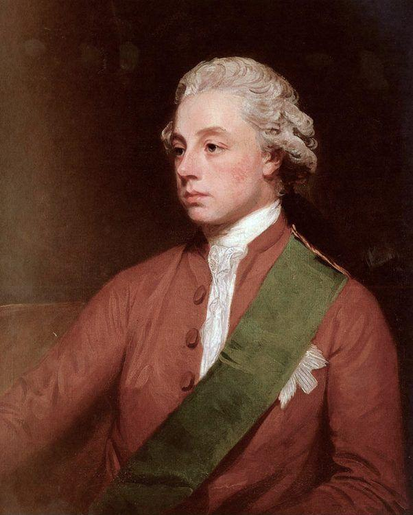 George Romney. Frederick, 5th Earl Of Carlisle.