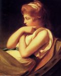 George Romney. Serena in Contemplation.