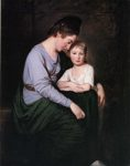 George Romney. Mrs Anne Wilson and her Daughter.