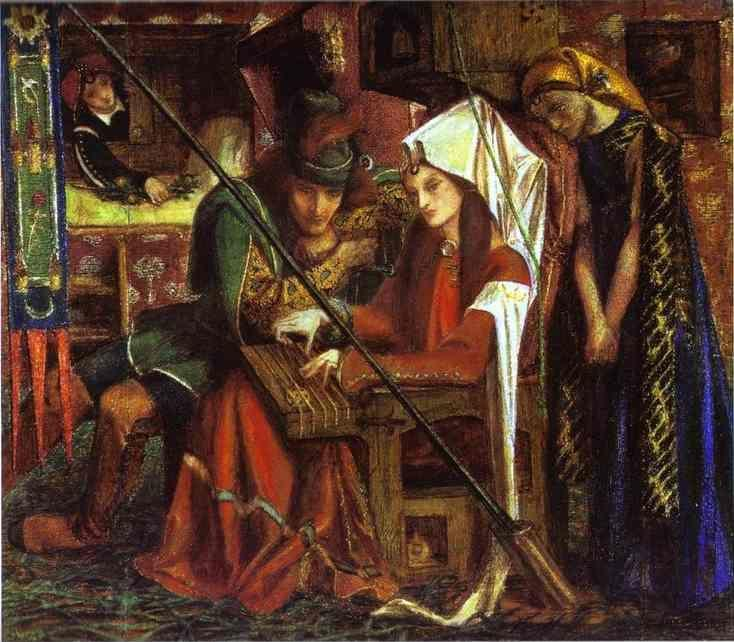 Dante Gabriel Rossetti. The Tune of  Seven Towers.