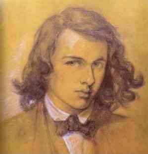 Dante Gabriel Rossetti Portrait