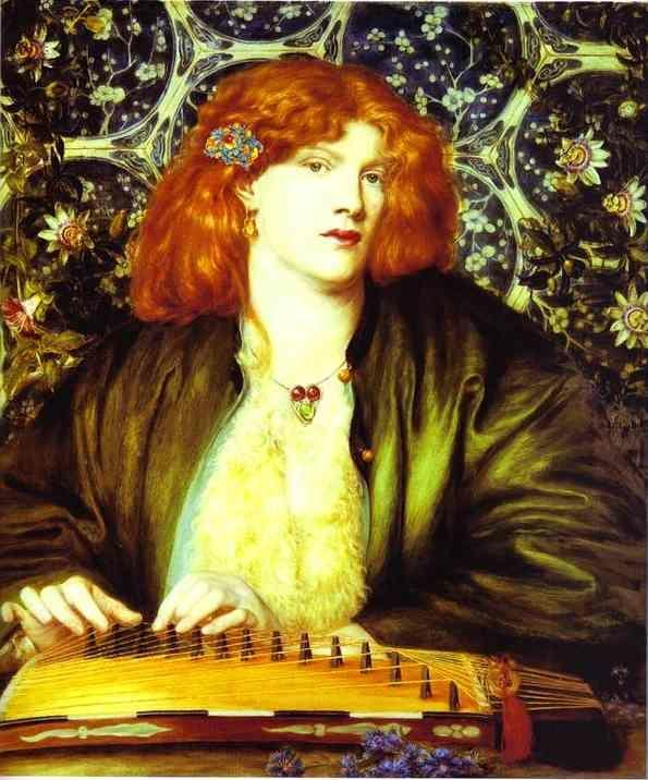Dante Gabriel Rossetti. The Blue Bower.