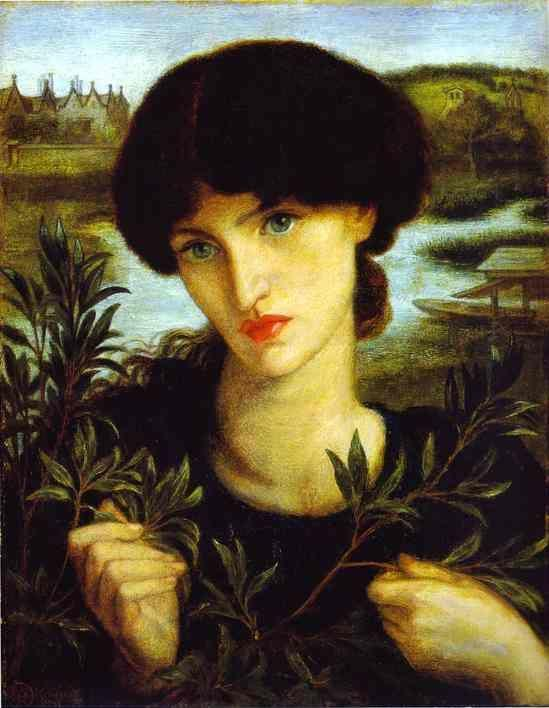 Dante Gabriel Rossetti. Water Willow.