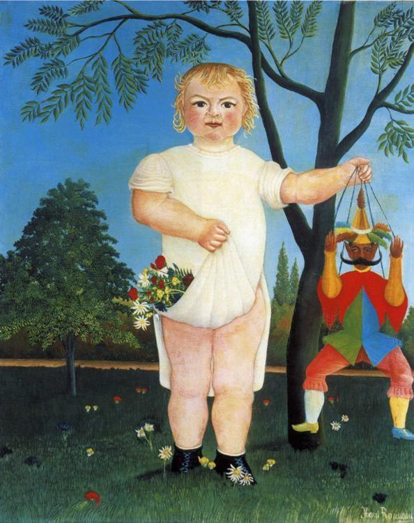 Henri Rousseau. To Celebrate the Baby. 1903. Oil on canvas. 100 x 81 ...