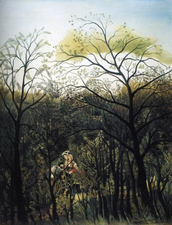 Henri Rousseau. Rendezvous in the Forest.