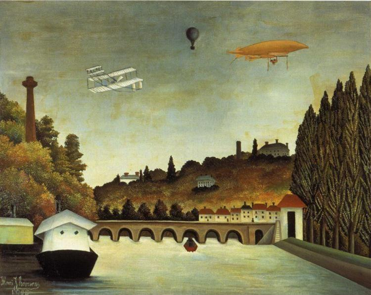 Henri Rousseau. View of the Bridge Sèvres.