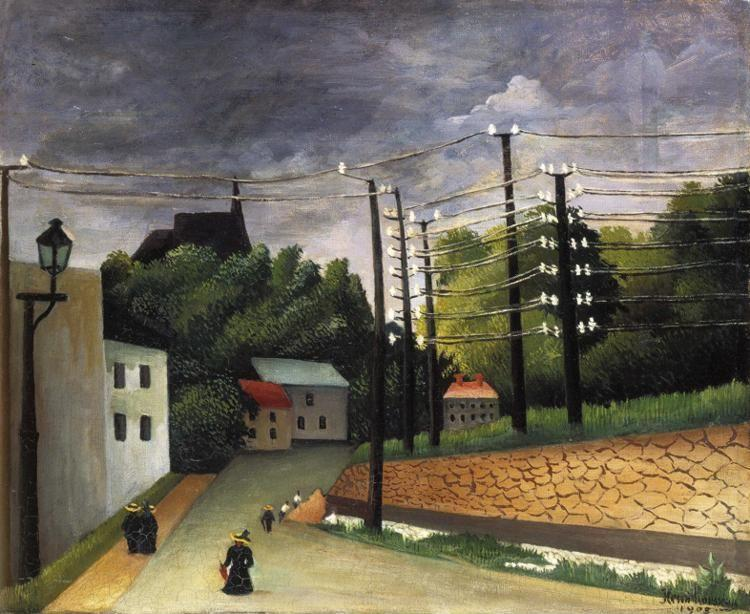 Henri Rousseau. View of Malakoff, Paris Region.