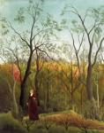 Henri Rousseau. Promenade in the Forest.
