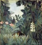Henri Rousseau. The Equatorial Jungle.
