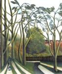 Henri Rousseau. The Banks of the Bièvre  near Bicêtre.