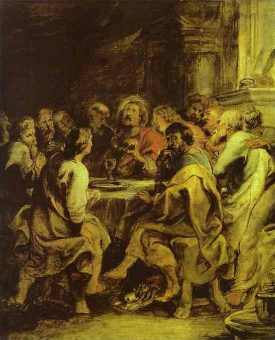 Peter Paul Rubens. The Last Supper.