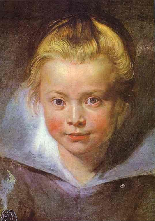 Peter Paul Rubens. Head of a Girl.