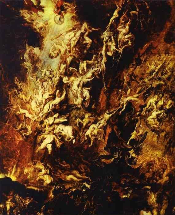 Peter Paul Rubens. Fall of the Rebel Angels.