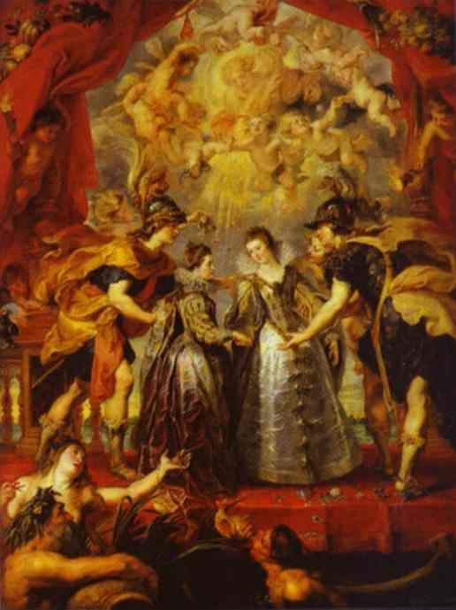 Peter Paul Rubens. The Exchange of Princesses.