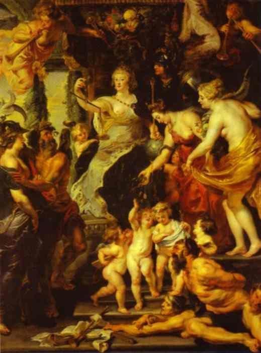 Peter Paul Rubens. The Happiness of the Regency.