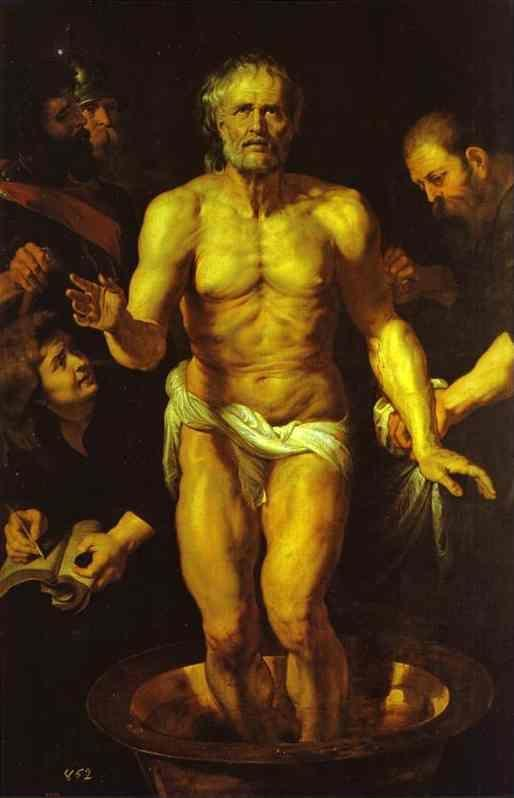 Peter Paul Rubens. The Death of Seneca.