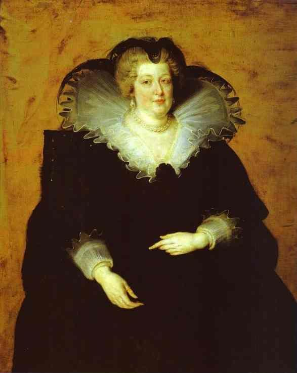 Peter Paul Rubens. Portrait of Marie de'  Medici.