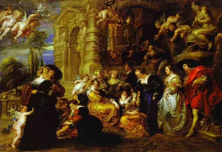 Peter Paul Rubens. The Garden of Love.