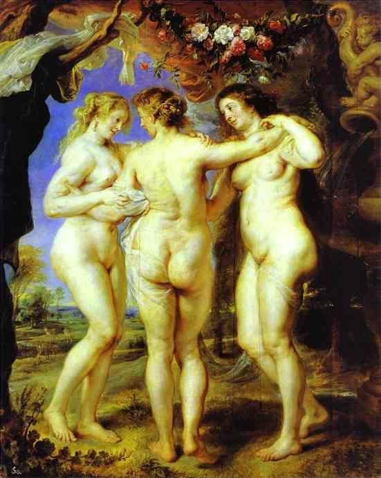 Peter Paul Rubens. The Three Graces.