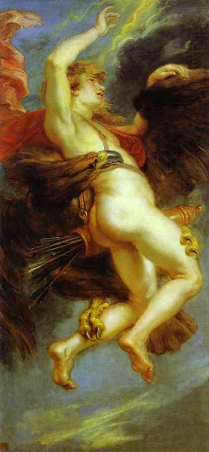 Peter Paul Rubens. The Abduction of Ganymede.