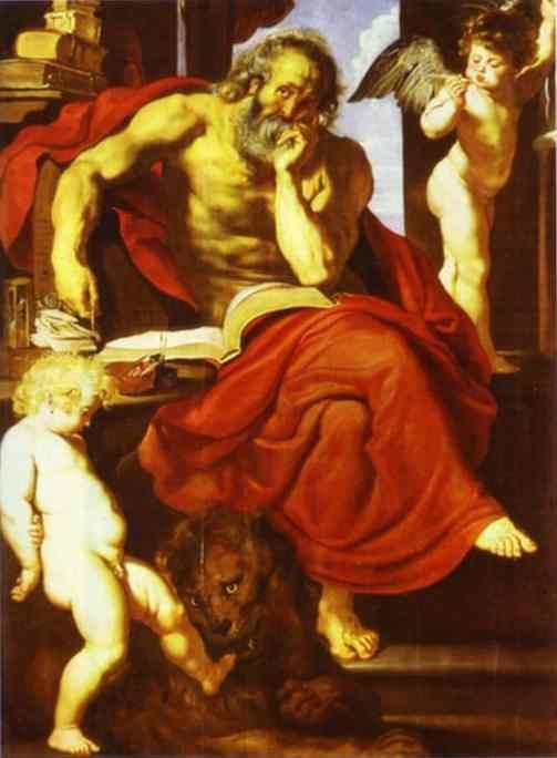 Peter Paul Rubens. St. Jerome in His Hermitage.